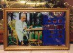 Đồng hồ vạn niên, Bác Hồ ngồi làm việc -617