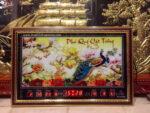 Tranh lịch vạn niên phú quý cát tường -310