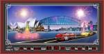 Tranh lịch vạn niên-Cầu Úc-DH101
