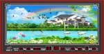 Tranh lịch vạn niên-phong cảnh-DH203