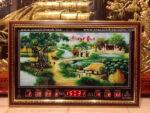 Tranh lịch đồng hồ vạn niên, Đồng quê -442