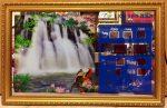 Tranh lịch vạn niên-Phong cảnh thác nước-MS545