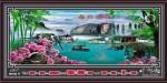 Tranh lịch vạn niên-Phong cảnh-DH710