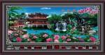 Tranh lịch vạn niên-Phong cảnh-DH719