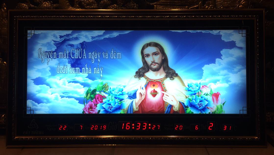 Tranh lịch vạn niên, Chúa giesu – 8606