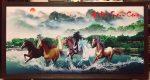 Tranh dầu canvas -Mã đáo thành công – CV05