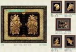 Tranh đồng mạ vàng 24k MV014-Hộ pháp tiền nhân