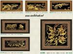 Tranh đồng mạ vàng 24k MV020-Vạn lý trường thành