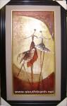 Tranh sơn dầu S115-Ấn tượng vũ điệu