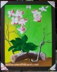 Tranh sơn dầu S181-Khóm Lan