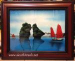 Tranh sơn mài, Vịnh Hạ Long- SM037