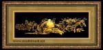 Tranh đồng mạ vàng 24k-Phật di lặc-MV28