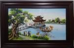 Tranh sứ Quan Họ Bắc Ninh G134