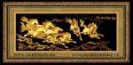 Tranh đồng mạ vàng 24k-Mã đáo thành công-MV27