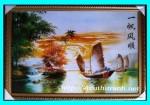 Tranh ép gỗ-Thuận buồm xuôi gió-V08
