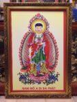 Phật Adida 182- (tranh in dầu )