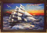 Tranh thuyền buồm xuôi gió – IN129