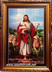 Chúa giesu chăn cừu-C19 (in dầu ép foam )