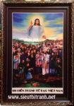 Chúa hiển thánh đồ -C28 ( in dầu ép foam )