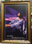 Chúa Giesu cầu nguyện -C20 (in dầu ép foam )