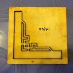 Góc hoa văn dập giấy bo-X104