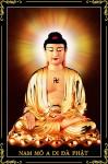 Phật Adida 004B (ép laminater đổ bóng)
