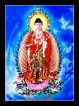 Phật ADIDA 105 (ép laminater đổ bóng)
