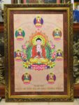Phật Dược Sư ( tranh in dầu 227 )
