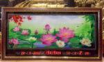 Tranh lịch vạn niên,Hồ Sen-MS207
