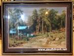 Tranh thảm nghệ thuật-rừng thu-Z01