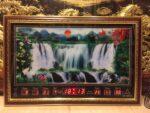 Tranh lịch vạn niên, suối thác -68553