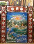 Tranh sơn mài , Phúc Lộc Thọ -SM315