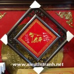 Tranh thư pháp chữ Tài -K36