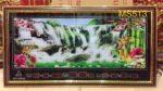 Tranh đồng hồ vạn niên, Suối thác -MS513