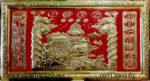 Liễn đồng vàng thờ cửu huyền thất tổ -A164