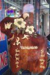 Tranh gỗ hương lốc lịch ,Hoa Mai-TG010