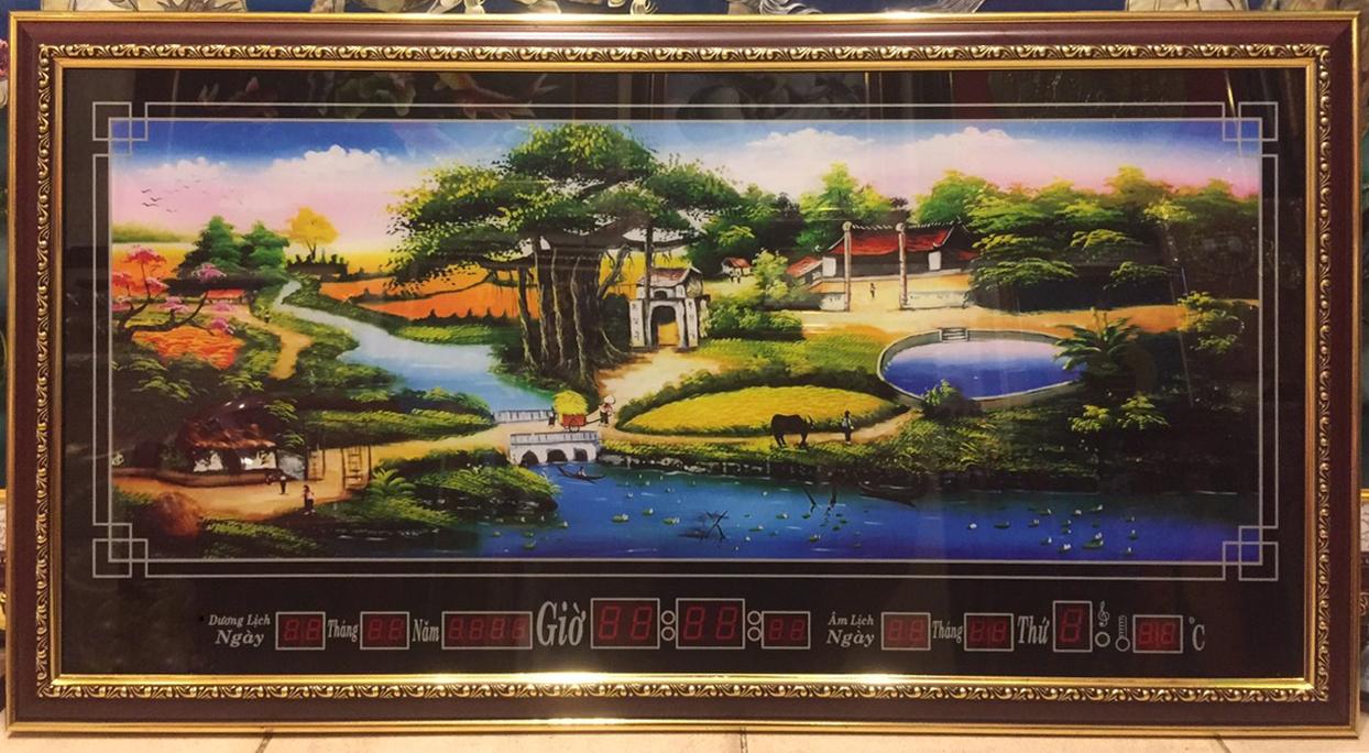 Tranh lịch vạn niên, Quê Hương – 8610