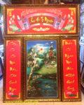 Tranh in dầu Thờ cúng Ẩm Hà Tư Nguyên- IN30
