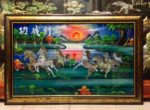 Tranh sơn mài, Bát Mã Hùng Phong- SM200