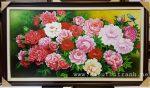 Tranh sơn dầu, Hoa Mẫu Đơn – S248