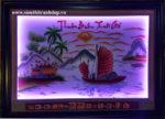 Tranh lịch vạn niên đèn led ,Thuận buồm xuôi gió- 2045