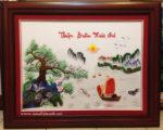 Thuận Buồm Xuôi Gió, tranh thêu- F138