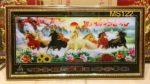 Tranh Bát Mã, lịch vạn niên -MS122