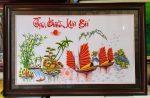 Thuận buồm xuôi gió (tranh thêu F148)