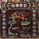 Liễn thờ sơn mài khảm trai – Cửu Huyền – SM188