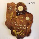 Thư pháp chữ An ( gỗ hương TG216)