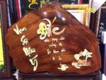 Tranh gỗ hương nghệ thuật chữ đức- TG066