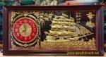 Tranh đồng, Đồng hồ Nhất xuyến phong thuận – A132