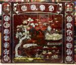 Liễng thờ cửu huyền thất tổ sơn mài khảm trai- SM279