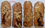 Tùng Cúc Trúc Mai,Tranh gỗ ghép TG211